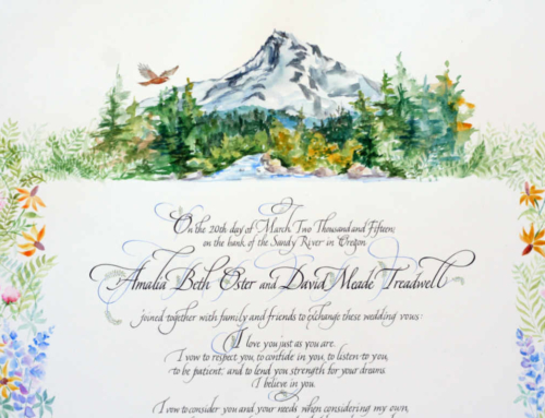 Mt. Hood Painting