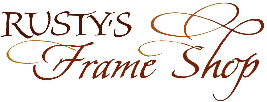 Rusty's Frame Shop logo