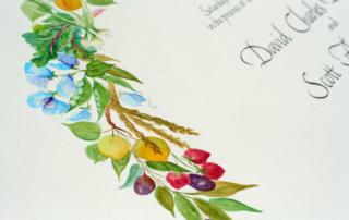 LGBT, two husbands, Mr. & Mr, wedding certificate.
